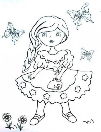 Раскраски для детей 5-6 лет распечатать бесплатно